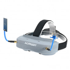 AOMWAY Commander V1 Diversity FPV Goggles w/ DVR