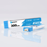 BetaFPV 300mAh 1S 30C Battery (BT2.0)